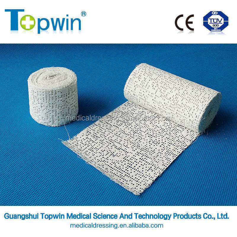 Execellent price consumable certified medical plaster of paris tape/bandage