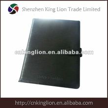 Professional Manufacturer 2012 A5 leather notebook cover