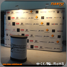 customized portable advertising aluminum trade show booth