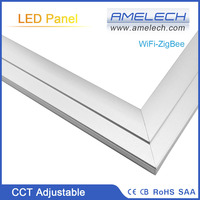 36W ZigBee CCT Dimmable Ultrathin LED 600x600 Ceiling LED Panel Light