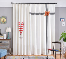 Wholesale and custom Simple and Fashion Living Room Bay Window blackout curtain and fabric for Curtain