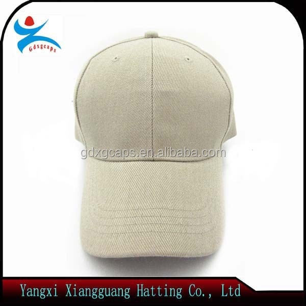 New Design 100% cotton China Factory Made Advertising Cap with 3D Embroidered Logo