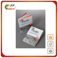 Office use A4 size perfect binding paperback book full color printing from China