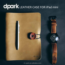 Vintage leather men gift case cover for iPad mini 3 OEM