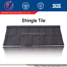 shingle sand coated steel roofing tile,ideal building material stone coated tile