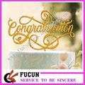 new arrival congratulation design acrylic cake topper for Celebration Party