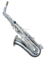 Alto Saxophone Nickel-plated /Beginner And Student alto sax