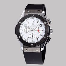 Top quality hot selling custom logo silicone watch men