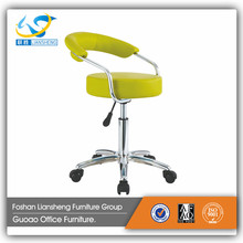 New Design Strong Yellow Leather Bar Stool for Barcelona