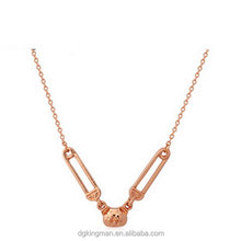 Kingman high-end new arrival zinc alloy necklace hyderabad