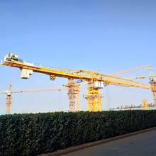 High quality & best price of qtz 125 qlcm tower mobile crane