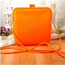 Custom Design Silicone Handbags Silicone Waterproof Beach Bag Silicone Cosmetic Bag