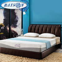 "10""12"" 7 Zone 3D Adaptive Memory Foam Mattress Cheap Queen Size Pure Health Cheap Price Sleeping King Mattress"