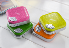 Promotional Item Super Mini Colorful Portable Small Square Bluetooth Speaker
