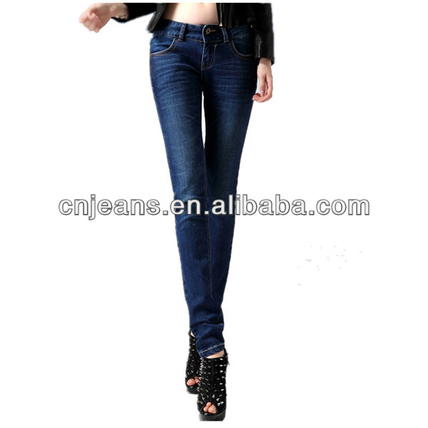 free shipping delivery fashion women jeans stocks popular lady wholesale jeans