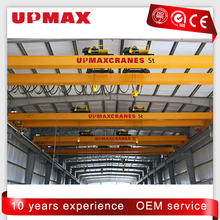 Double girder overhead travelling bridge crane 15 ton