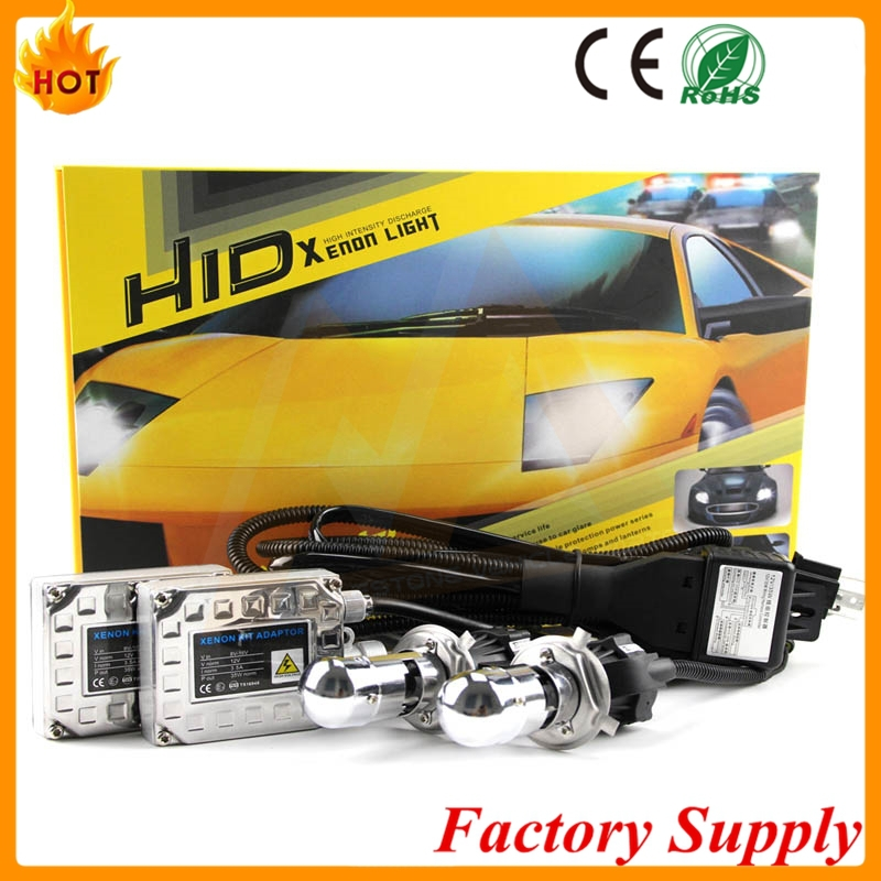 China Factory Wholesale DC 35w Slim ballast hid kits H1 H3 H7 H8 9005 9006 xenon hid ballast kit