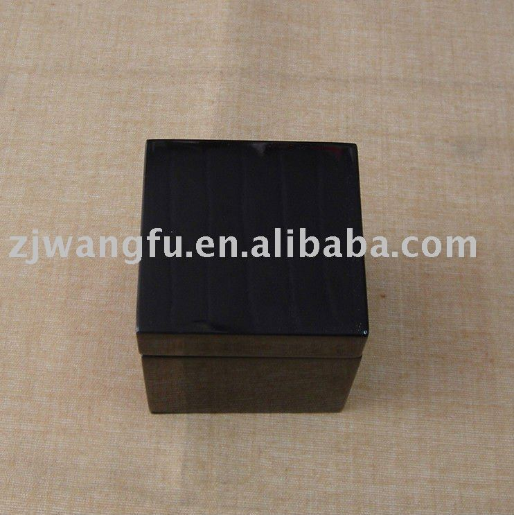 black high glossy painting wooden gift box