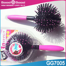 china supplier stretch hair comb, rolling hair comb, ozone hair comb