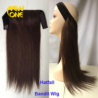 Wear with a hat bandit wig Jewish hair product bandit wig for wholesale