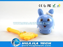 So cute!! Electirc rabbit Induction toys for kids