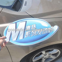 Sales hot product magnetic car sticker/car decoration welcomed to you