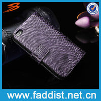 Genuine Leather Wallet Case for iphone 4 Cover