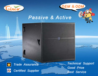 Dual 18Inch Passive Subwoofer , 1400Watt,Indoor and Outdoor Subwoofer