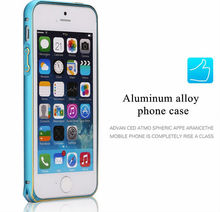 New Design Aluminum metal Bumper Cell Phone Case For iPhone 6
