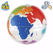 Transparent big size giant inflatable earth globe ball