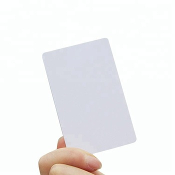 Printable Blank ISO14443A 13.56MHz HF RFID Smart NFC White Card