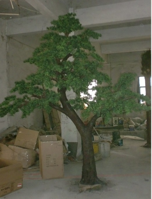 China Regional Feature and Plastic Material High quality artificial outdoor/indoor artificial pine tree