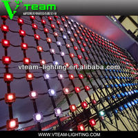 alibaba.com in russian hot product soft LED curtain Mahjong for outdoor building facade