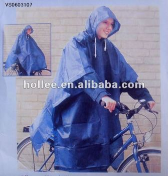 Adult Bicycle Rain Poncho