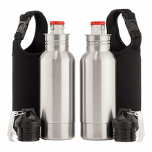 Food Grade 12 oz Stainless Steel Beer Bottle Holder and Insulator