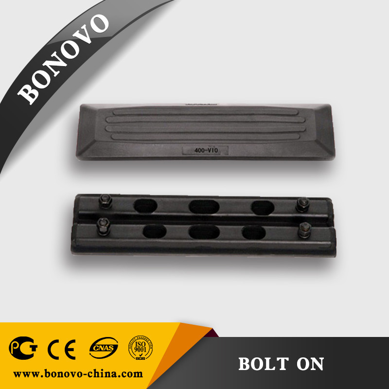 Excavator rubber track shoe pads 400*106*61 superior supplier hot sales