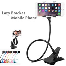 Adjustable 360 Degree New Product Flexible Rotatable Lazy Desk Bed Cell Phone Flexible Mobile Phone Holder For Desk