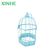 open-top decorative metal bird cages for wedding