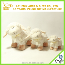 Organic cotton baby sheep toys nature lamb stuffed toys
