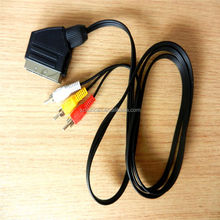 21 pin scart to 3 rca cable Video/Audio Cable