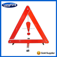 Triangle Flare Safety Emergency Road Reflector Light Kit T-00