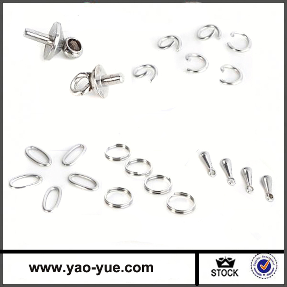 opening 5mm terminal o ring stainless steel jump rings
