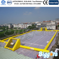 Giant Playground Inflatable Soap Soccer Field
