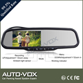 Vehicle rear view mirror monitor with dvr 1080p