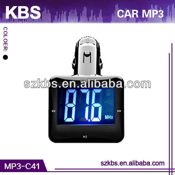 Hot Sale Car Mp3 Player Games, With LED/LCD Display, Support MP3/WMA/ASF Audio Format