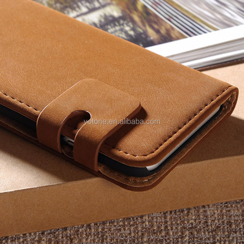 TOMKAS Premium PU leather factory 4.7 inch belt clip mobile phone case for iphone 6