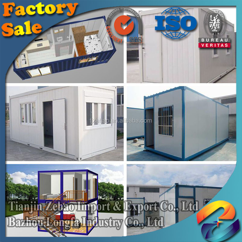 Residential prefab container module house design