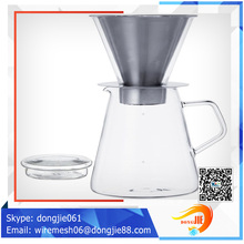 Fashionable design eco-friendly hand drip coffee dripper coffee dripper dripper coffee