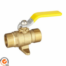 "female thread copper valve brass 3000psi 1/2"""" inch npt bspt od compression 3 way ball wafer double disc check"