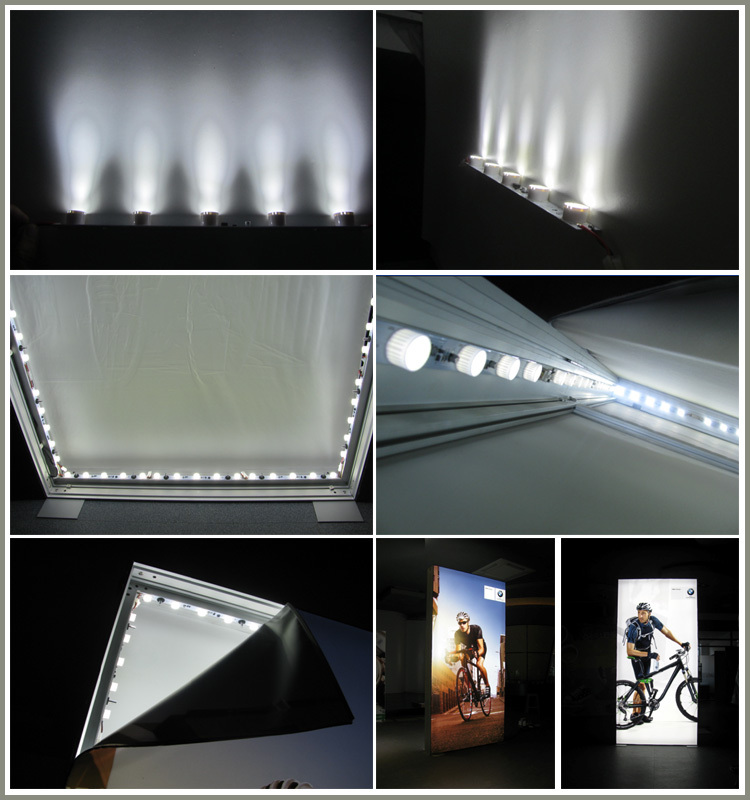 led light bar module for edge lit,led back advertising,leuchtkasten led-streifen licht